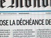 gauche pétainiste, vomis #decheancedenationalite