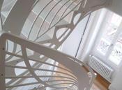 Escalier design ailes papillon