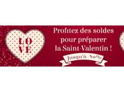 Profitez soldes d'hiver pour préparer Saint-Valentin