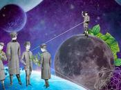 collages surréalistes l'artiste Gloria Sánchez