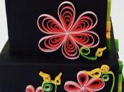 (Contribution) gâteau quilling