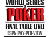 Table finale WSOP live