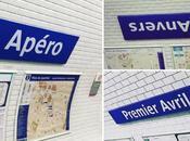RATP renomme stations pour Avril