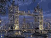 Londres crépuscule