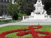 Vienne: monument Mozart Burggarten