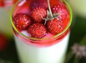 Yaourt fraises bois