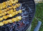 Brochettes Poulet Citron Curry
