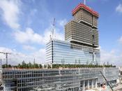 Futur Palais Justice Paris atteint sommet