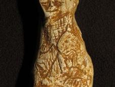 figurine sculptée âgée près 20000 découverte dans grotte Foissac