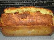 Cake salé semoule fromage lardons
