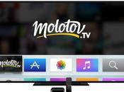 Molotov, l'app changer votre vision télévision arrive l'Apple
