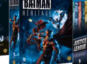 Coffrets bluray pour films d'animation Comics