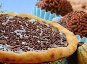Recette pizza brigadeiro crème glacée dessert Brésil!