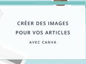 Créer images pour articles avec Canva
