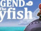 Utilisez canne pêche comme arme dans Légende Skyfish iPhone