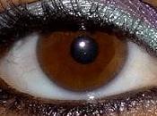 Maquillage naturel Mauve Vert d'eau avec