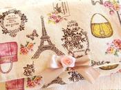 Trousse couture romantique pour emporter matériel facilement
