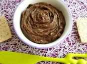 tartinade diététique végane choco-noisette protéines riz-pois-cranberry (sans gluten beurre sucre, riche fibres)