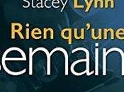Just Song Rien qu'une semaine Stacey Lynn