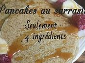 Pancakes sarrasin {seulement ingrédients, vegan sans gluten}