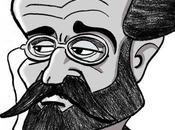 """Émile Zola journalisme, """"meilleur apprentissage langue"""" Dessin pour Grandeursrvitude"""