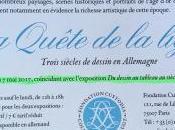 Fondation Custodia quête ligne Trois siècles dessins Allemagne- Février 2017