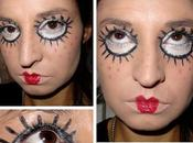 maquillage Poupée d'Halloween pour MMUF