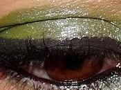 maquillage presque pistache pour MSC!