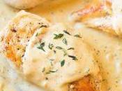 Filets poulet moutarde crème