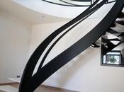 Escalier d'art sculptural