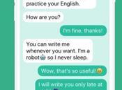 """Pratiquez votre Anglais, """"chatbot"""" pour"""
