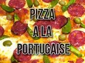 Recette: Pizza portugaise