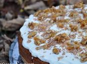Gâteau Noix fourré chocolat, Chantilly noix caramélisées