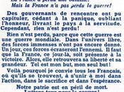 Juin 1940 l'Appel