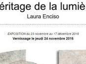 Galerie Héritages lumière exposition Laura ENCISO Novembre Décembre 2016