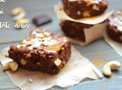 Brownie patate douce (vegan, sans gluten, sucre)