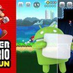 Super Mario Android Google Play propose s'enregistrer