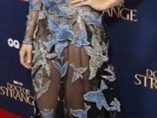 Rachel Mcdams provocante sexy robe transparente