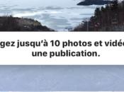 albums Instagram comment publier plusieurs photos vidéos dans publication