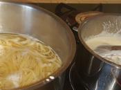 Spaghettis carbora tres simple