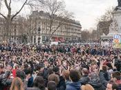 Place république noire monde avec Jean-Luc Mélenchon