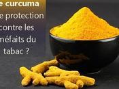 Curcuma protège contre effets néfastes tabagisme