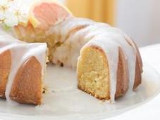 Bundt cake pamplemousse fleur d'oranger