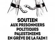 Prisonniers palestiniens grève faim