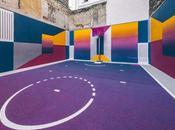 playground Pigalle-Duperré, entre street graphisme