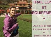 Trail long équipement check-list imprimer