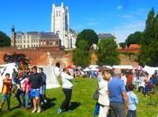 week-end dernier, avait fête médiévale Saint-Omer