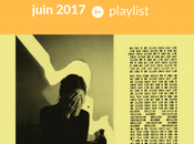 Playlist indie Juin 2017