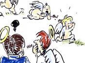 Caricature Simone Veil