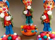 Clown porcelaine froide